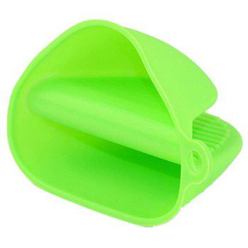 Resistant Silicone Insulation Glove for Kitchen - GREEN