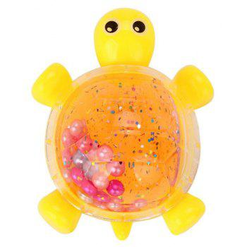 Turtle Crystal Jelly Soft Scented Stress Relief Toy - GOLDENROD
