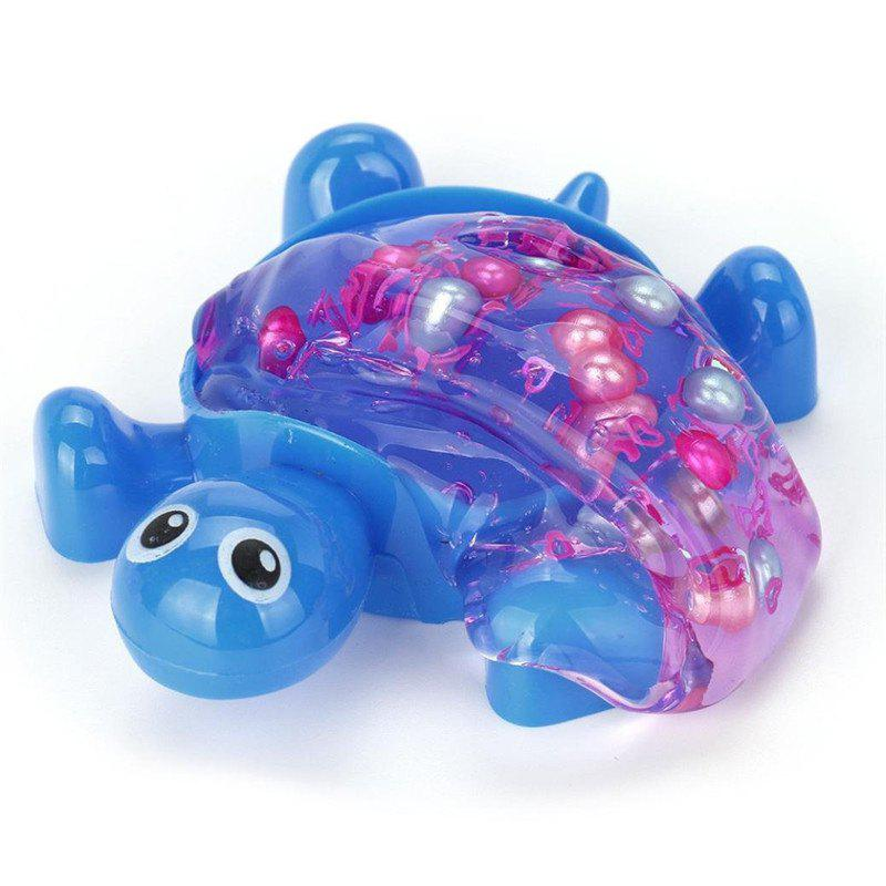 Turtle Crystal Jelly Soft Scented Stress Relief Toy - SAPPHIRE BLUE