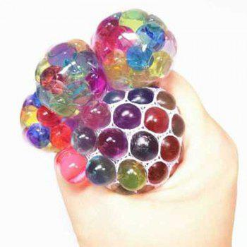 Grape Model Pressure Reducing Player Squeezes Jumbo Squishy Toy - multicolor