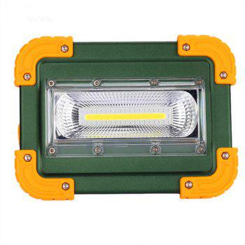 Portable LED Outdoor Flood Light - YELLOW PACKAGE BOX