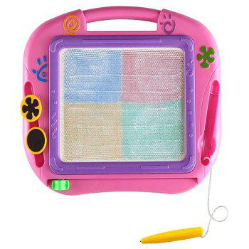 DIY Color Palette and Colorful Magnetic Writing Board Educational Toys F - multicolor A