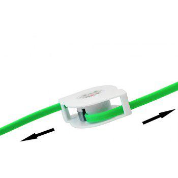 3 in 1 for Android Phone Type C iPhone Charging  Data Cable - GREEN