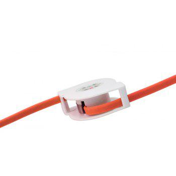 3 in 1 for Android Phone Type C iPhone Charging  Data Cable - ORANGE