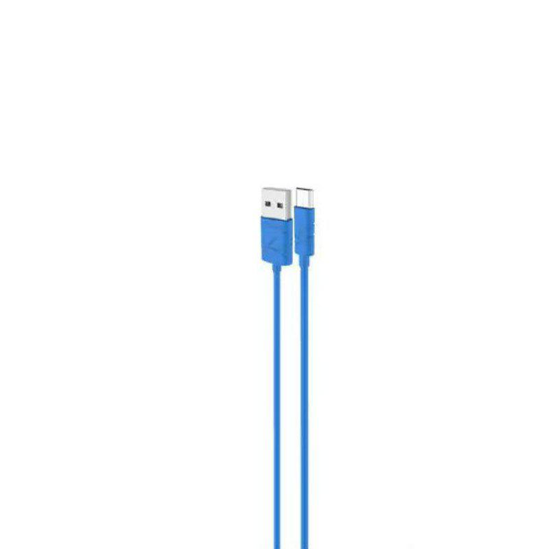 USAMS SJ039 Micro USB Cable 2A Fast Charging Date Sync 1M - BLUE