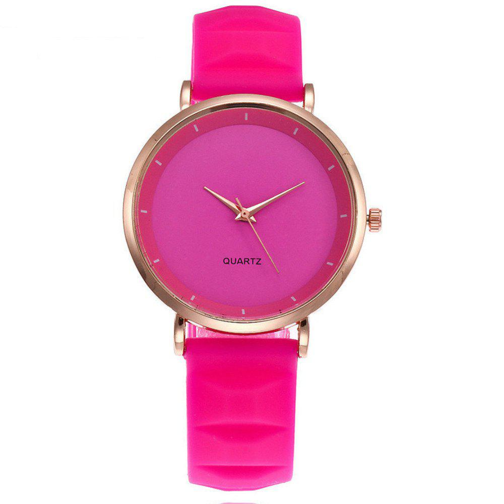 Fashion Jelly Silicone Women Watches Luxury Brand Casual Ladies Quartz Watch luxury brand gold bracelet womens watches fashion casual quartz ladies wrist watch relogio feminino
