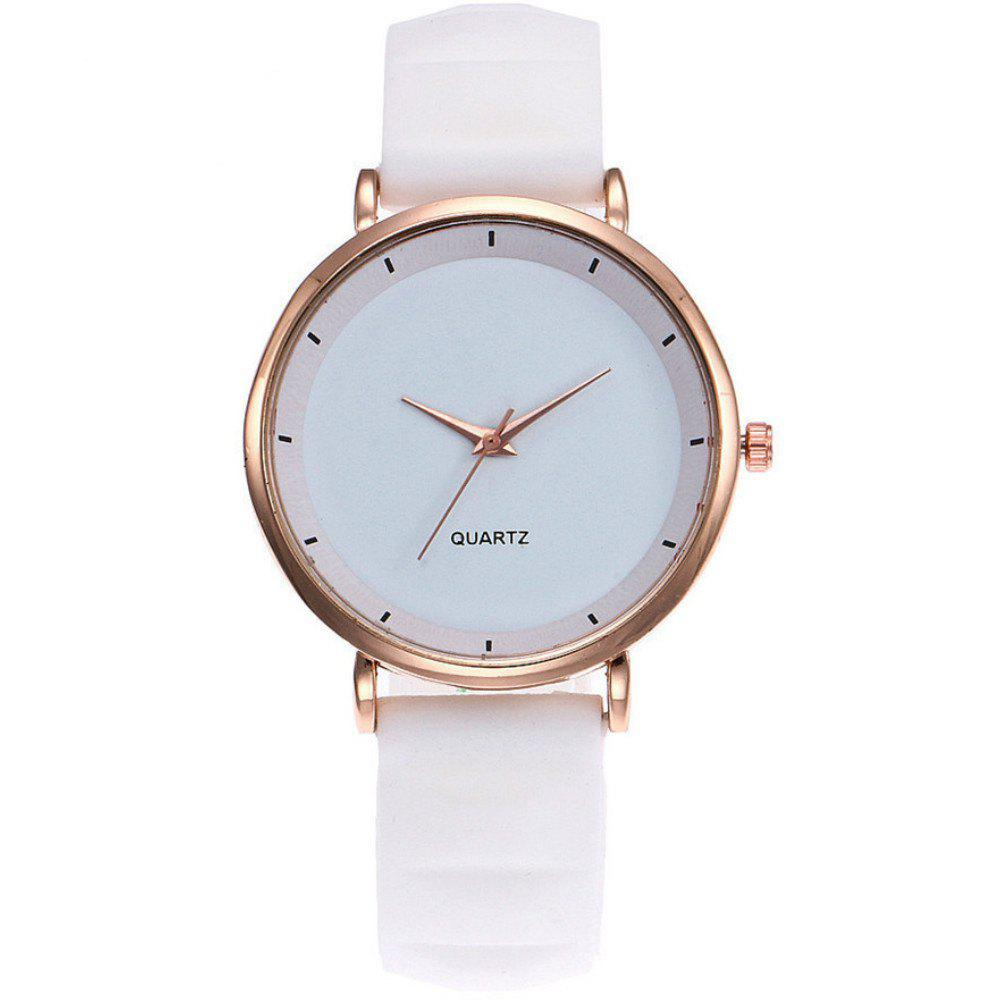 Fashion Jelly Silicone Women Watches Luxury Brand Casual Ladies Quartz Watch starking black women s watches female fashion casual ceramic diamond decoration luxury quartz watch multi function retro ure