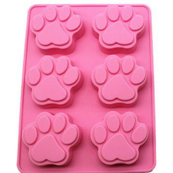 DIHE Cat Paws Multifunctional DIY Cake Chocolate Ice Cube Mould - PINK