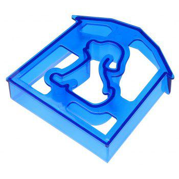 Cute Dog Shaped Kid Lunch Sandwich Toast Cookie Cutter Cake Bread Biscuit Mold - OCEAN BLUE