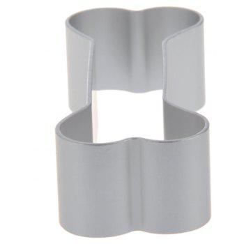Mini Bone Shape Cookie Cutter Mold Cake Muffin Pastry Decorating Baking Tool - SILVER
