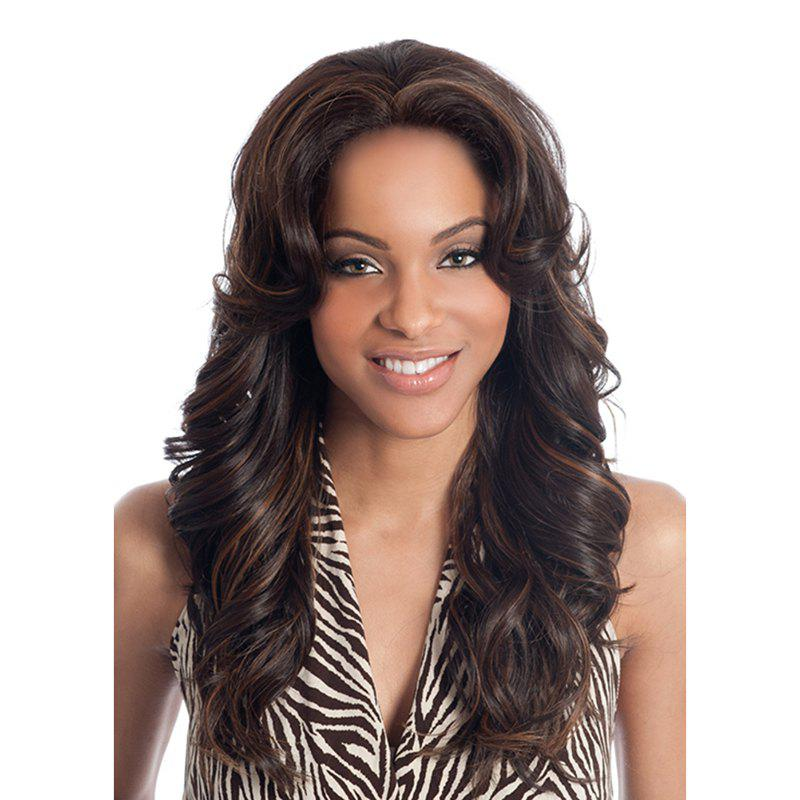 Women Fashion Long Curly Hair High Quality Synthetic Chemical Fiber Wig high quality synthetic hair wig women s naturally curly short wig many color for your choose