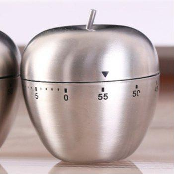 Stainless Steel Timer Reminder - SILVER