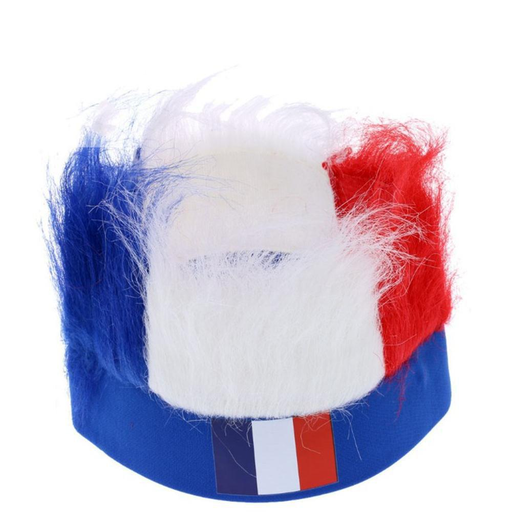 Special Wig Holiday Decoration for Soccer Fan - multicolor E