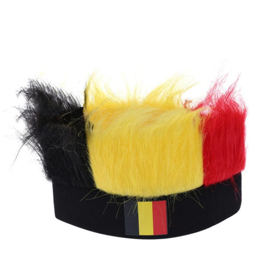 Special Wig Holiday Decoration for Soccer Fan - multicolor F
