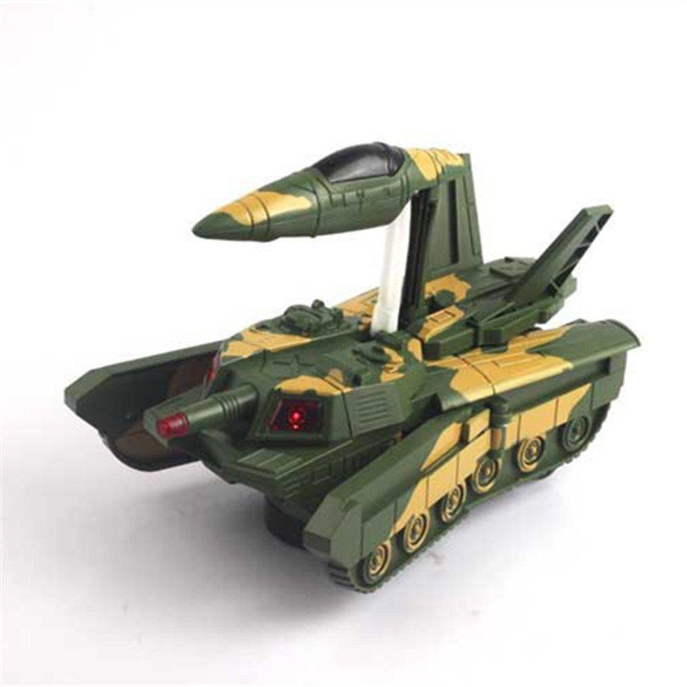 Transformer Car Deformation Tank Future Chariot Electric Fighting Vehicle Milita - WOODLAND CAMOUFLAGE
