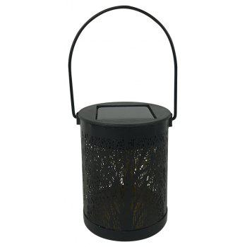 1PC Solar Maple Style Table Lamp Hanging Lights - BLACK