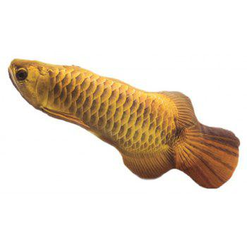 Funny Lifelike Fish Shape Pet Cat Kitten Cute Simulation Playing Toy - multicolor B 32CM / 12.6 INCH