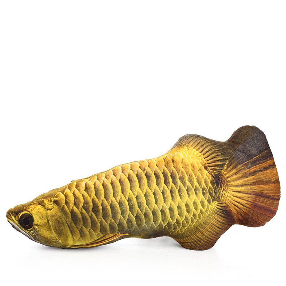 Funny Lifelike Fish Shape Pet Cat Kitten Cute Simulation Playing Toy - multicolor B 20CM / 7.9 INCH