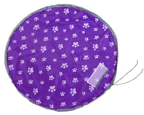 Bunch of Children's Toys Storage Bag Thickened Trumpet Quick Finishing - VIOLET SIZE L