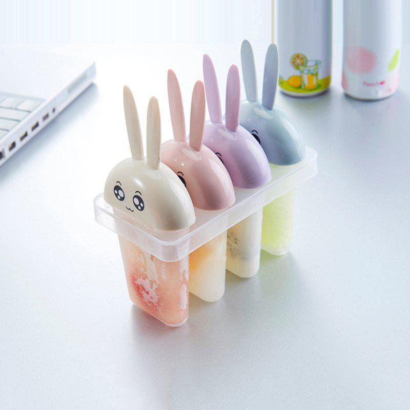 Creative Four DIY Plastic Ice Cream Mold Cover creative diy ice cream maker