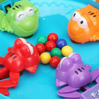 Educational Toys for Small Children Feed the Frog Prey Beans Interactive Board - OCEAN BLUE