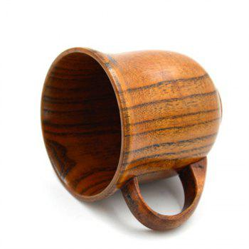 Wooden Handle Office Coffee Cup - WOOD