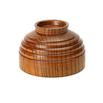 Wood Bowl of Natural Wooden Tableware - WOOD