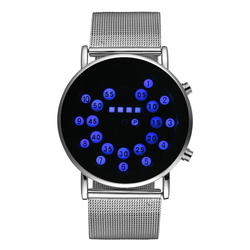 Seasonal 3150907 Waterproof  LED Digital Neutral Watch - BLUEBERRY BLUE