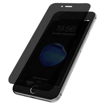 Privacy Screen Anti-Spy Tempered Glass Clear Thin  Membrane Film for iPhone 7/8 - GRAY