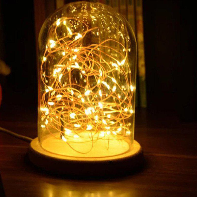 Creative Firetree LED Night Lamp Home Decoration - WARM WHITE