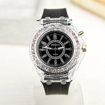 New Fashion Lady Business Leisure  Casual Watch - BLACK