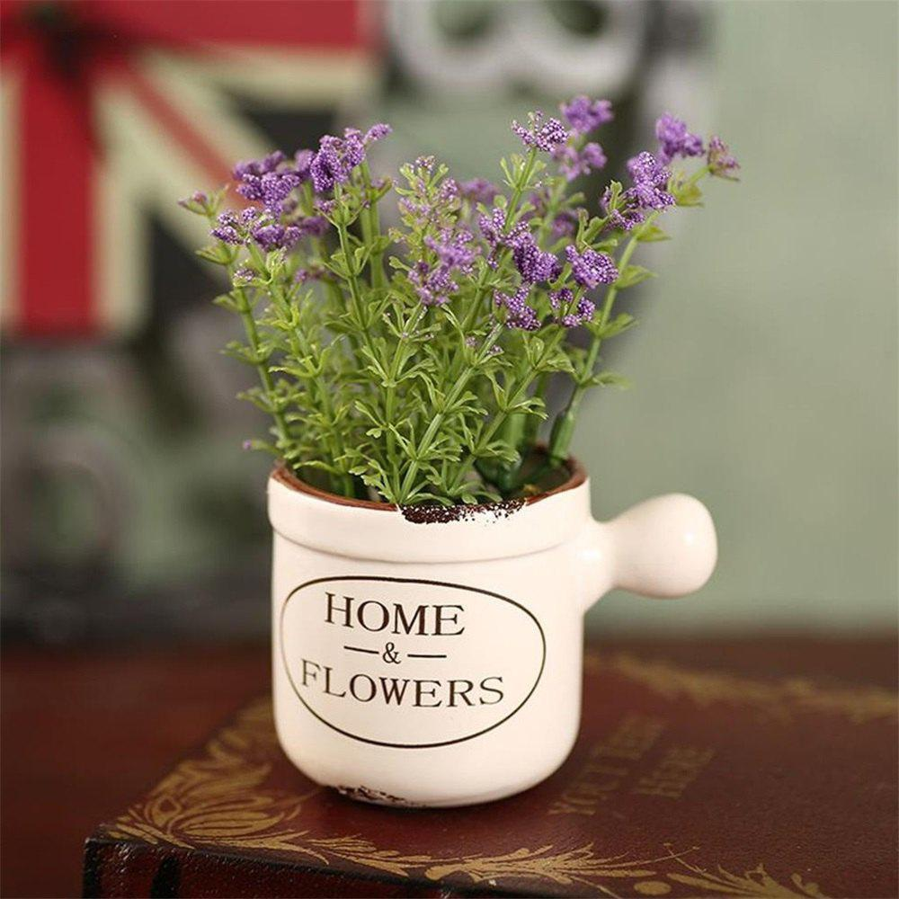 Image For WXQY-04 Home Accessories Art Flower with Pot