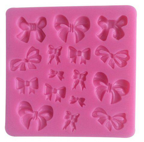 3D Silicone Butterfly Shape Mould for Candy Chocolate Ice and Cake - PINK