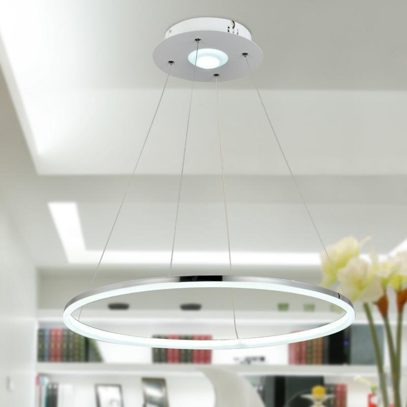 Modern LED Ring Shape Pendant lamp Creative Style for Living Dining Room Bedroom