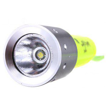 HKV 800 Lumens LED Rechargeable Diving Flashlight - COOL WHITE