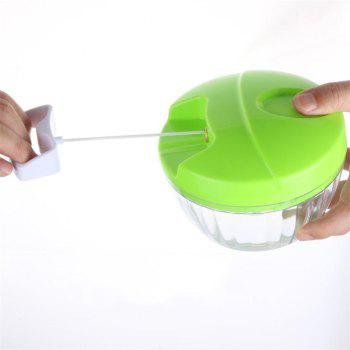 Manual Kitchen Multi Function Cutter - KELLY GREEN
