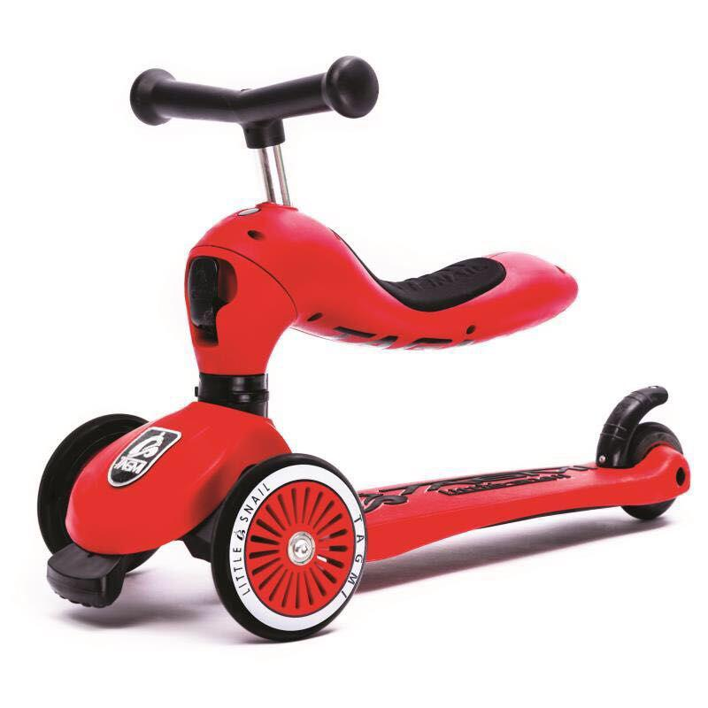 Cute Outdoor Scooter for Children three flashing wheels children scooter gravity steering foldable free installation for toddler kids walker outdoor free shipping