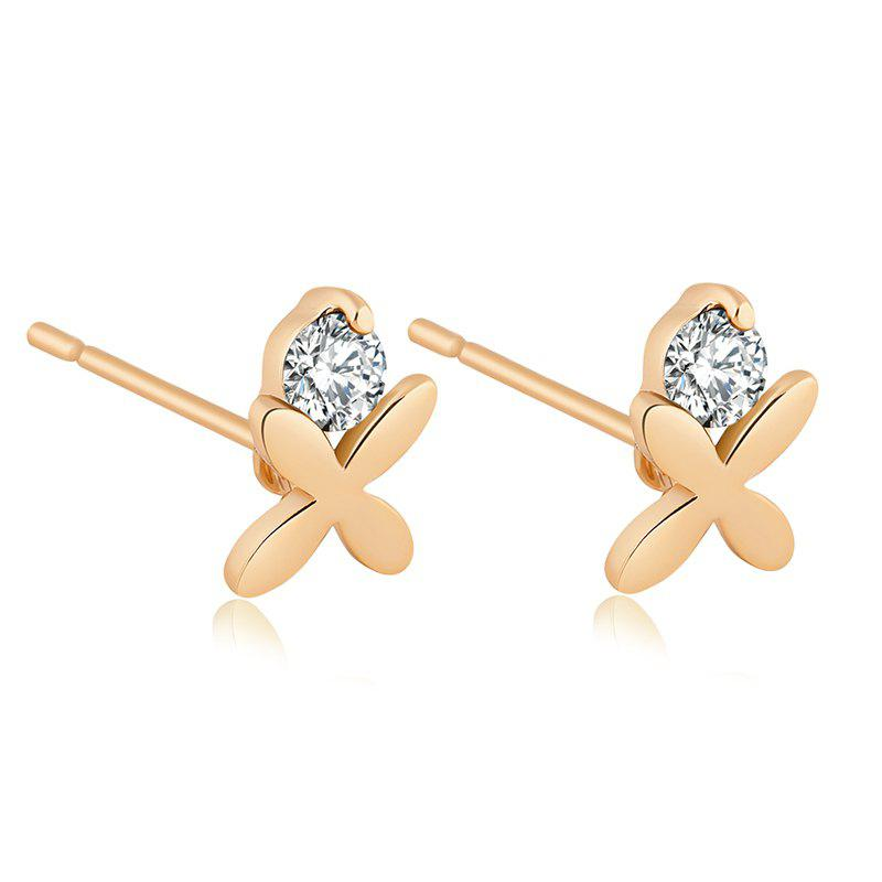 Exquisite Zircon Earrings ERZ0140 - WHITE