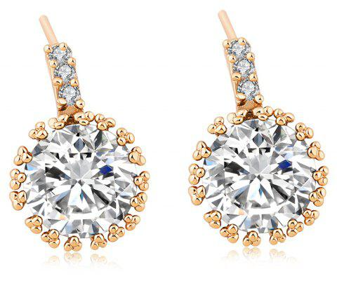 Fashionable Zircon Earrings ERZ0193 - WHITE