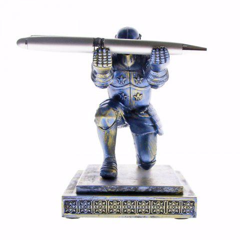 Executive Knight Pen Holder - BLUE