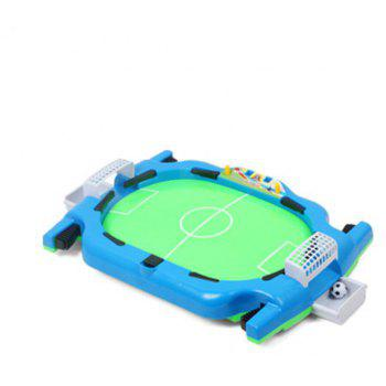 Table Football Interactive Game Machine Sports Children Puzzle Toys Unisex Plast - BLUE EYES