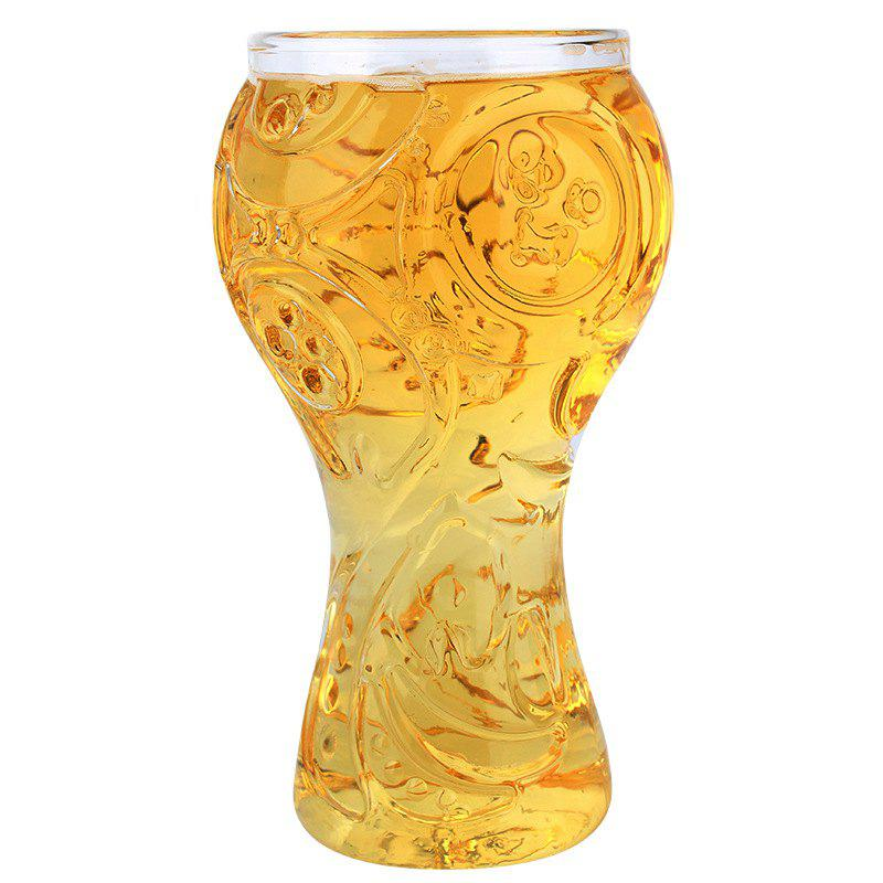 Image For Transparent Beer Glass Cup High Borosilicate 400ML