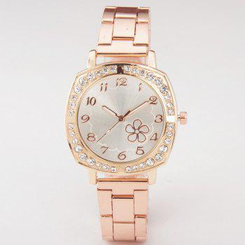 Flower Steels with Women Watch - ROSE GOLD