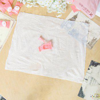 Travel Portable Candy Type Cotton Disposable Towel 50 Loaded - WHITE 20X22CM