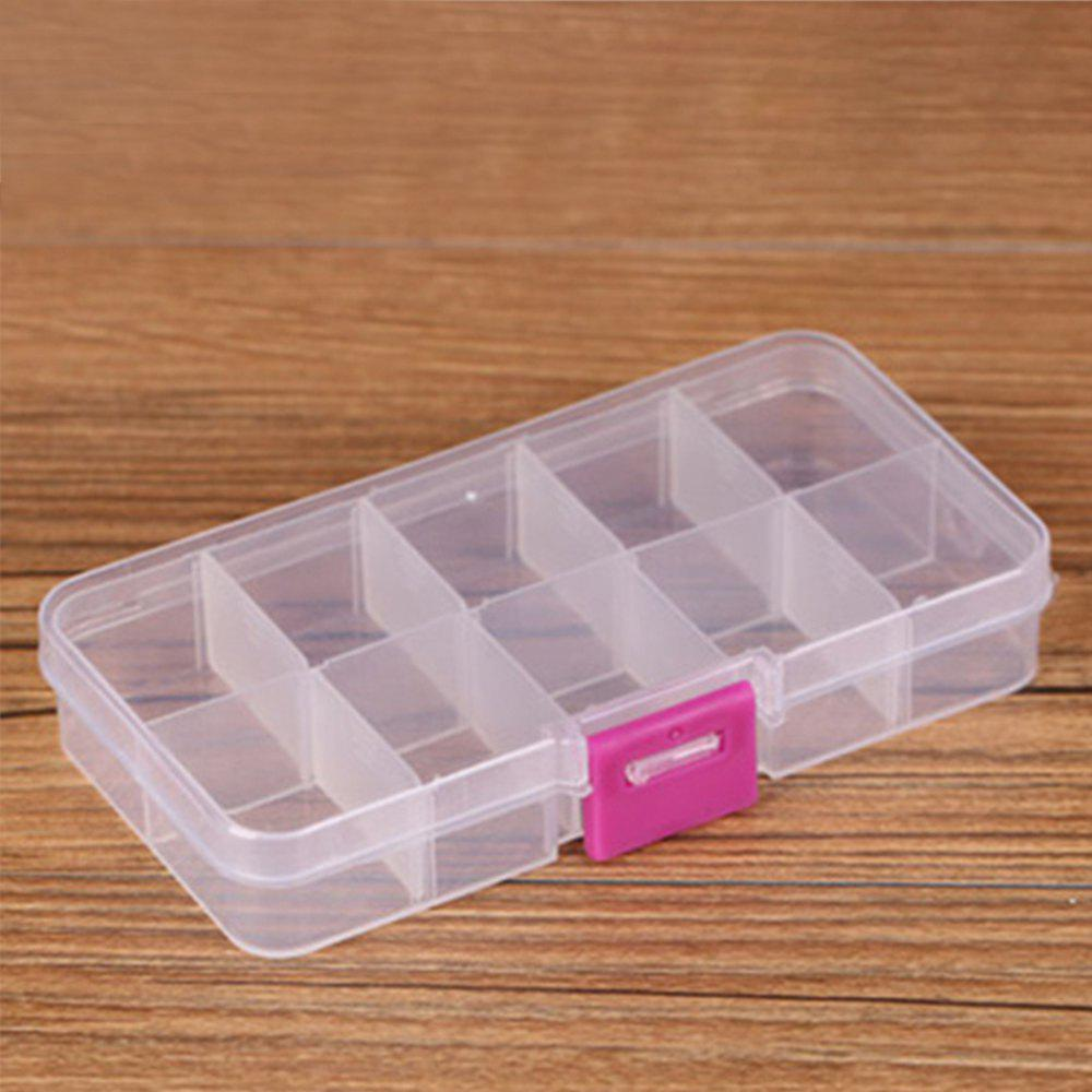 Plastic Transparent Jewelry Storage Box multifunctional wooden storage box mobile phone repair tool box motherboard accessories storage box