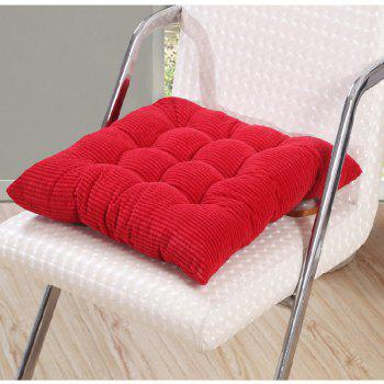 Corduroy Nine Pin Cushion - RED FULL