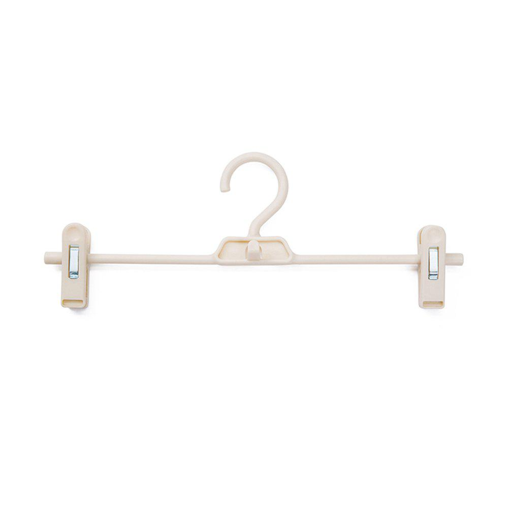 Double Buckles and Non-Slip Pants Shelves 3 PCS - WARM WHITE