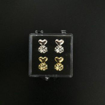 4PCS Magic Bax Lifters Adjustable Packed Hypoallergenic Earring Lifts - multicolor