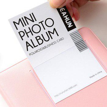 Candy Color Standard 3 Inch Polaroid Album - PINK
