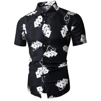 New  Short  Sleeve   Shirt - NIGHT M